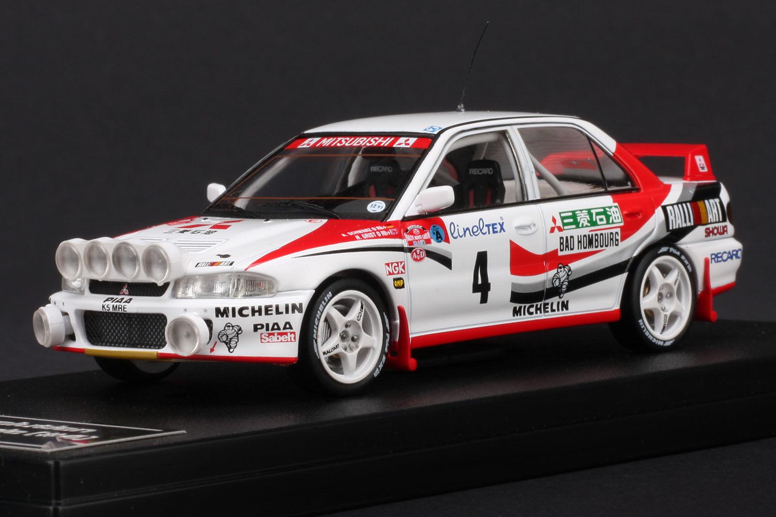 servicio de primera clase Mitsubishi Mitsubishi Mitsubishi Lancer Evo  4 1993 Rally Monte Cochelo -- Hpi  8542 1 43  toma
