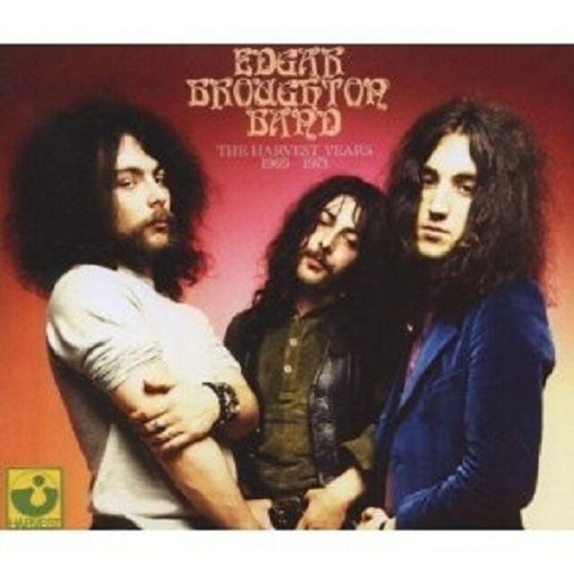 "THE EDGAR BROUGHTON BAND ""THE HARVEST YEARS.."" 4 CD NEU"