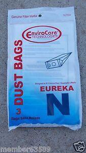 VACUUM BAG fit EUREKA MIGHTY MITE STYLE N 57988B-6 3620, 3630, 3640 3650