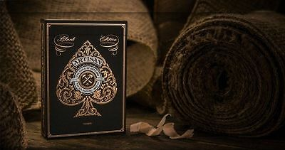 Artisan Playing Cards (Black) By Theory 11