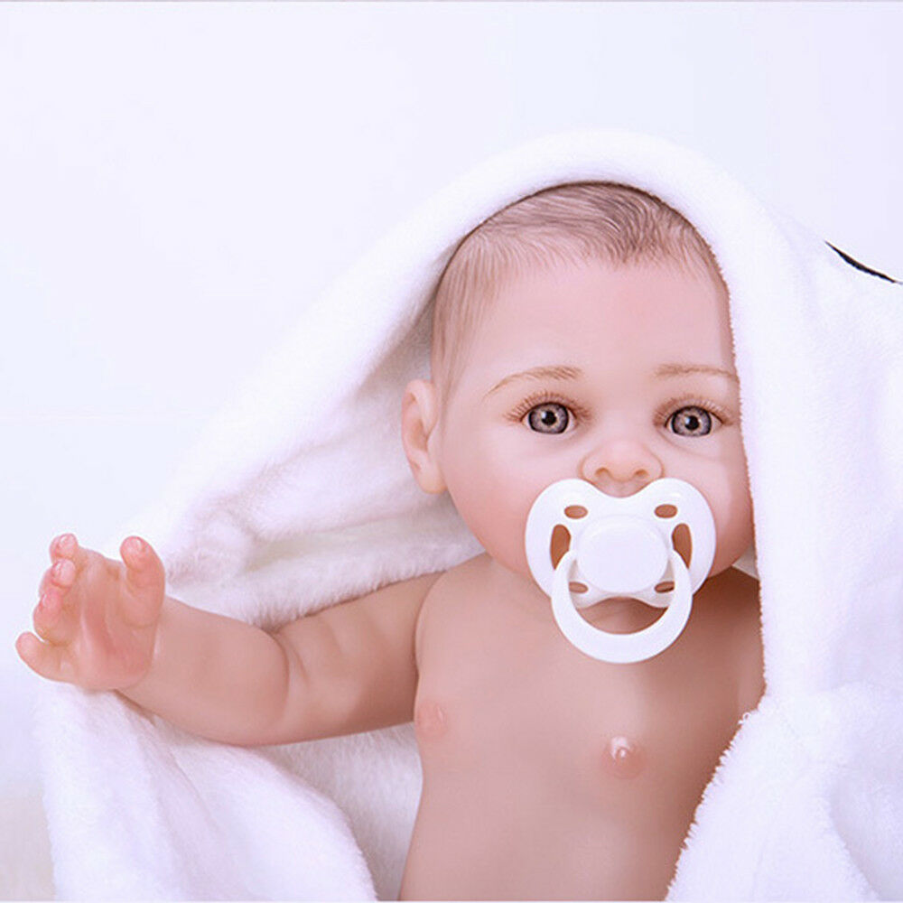 18in FULL BODY Realizzato a Mano Baby silicone Doll Bambina Reborn doll Gifts