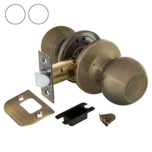Entry Keyed Alike Lock Sets Bronze Passage Privacy Interior Door Round Knob