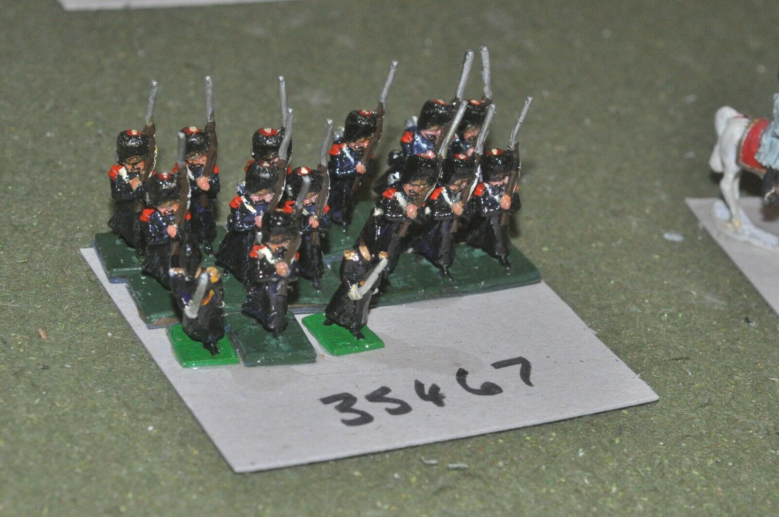 25mm napoleonic   french - old guard (old school) 15 figures - inf (35467)