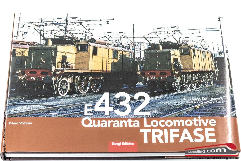 Libro - E432 Cuarenta locomotive Tres fases por Franco Dell'Amigo - 151 páginas