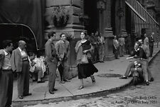 Poster Art Photo Ruth Orkin-American Girl in Italy 1951 Top Quality Graphics