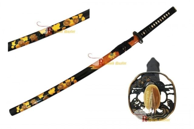 1045 Carbon Steel Handmade Bonsai Samurai Katana Sword Hand Crafted Scabbard New