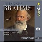 Johannes Brahms - : Complete PianoTrios, Vol. 1 - Trio Op. 8 (version 1889), Trio Op. 87 (2016)
