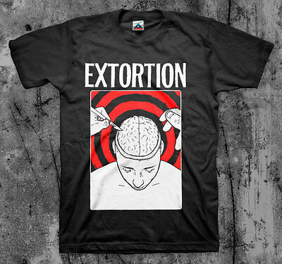 EXTORTION 'Brain' T shirt (Spazz Infest Drop Dead) | eBay Drop Dead Clothing History