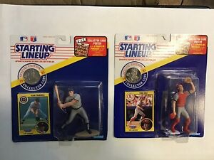 1991 Kenner Starting Lineup MLB Alan Trammell Todd Zeile St. Louis Cardinals
