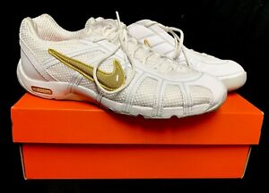 Details about Nike Zoom Balestra White Gold Special Edition Fencing Shoes Sabre Epee Foil 7