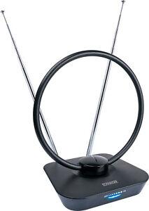 schwaiger dvb t2 antenne aktive zimmerantenne f r dvb t hdtv dab radio empfang ebay. Black Bedroom Furniture Sets. Home Design Ideas