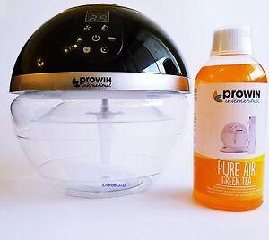 prowin air bowl 2 mit led funktion set pure air green. Black Bedroom Furniture Sets. Home Design Ideas