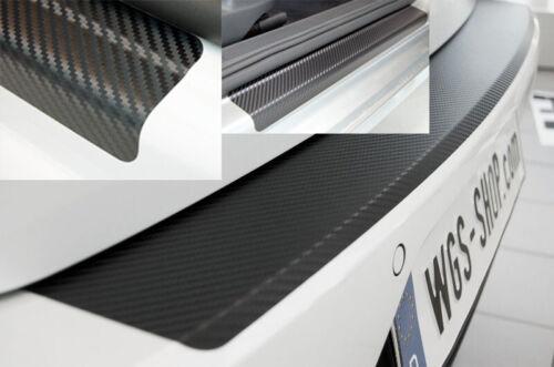 SparSET für RENAULT CAPTUR Einstiegsleisten Ladekantenschutz 3D Carbon Schwarz