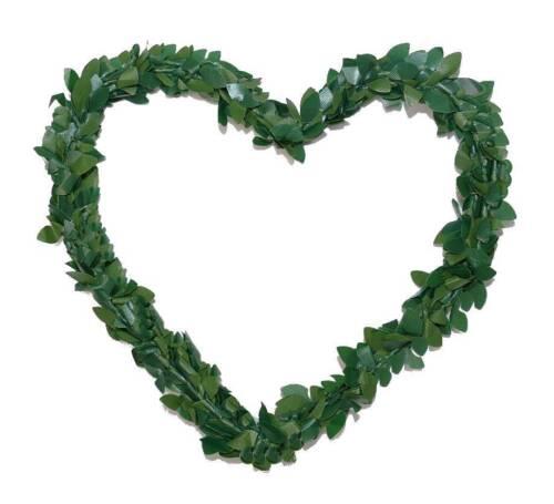 Herzen Herz Buchsbaumherz ⌀14cm Autoschmuck Hochzeit Buchsbaum 1 2 3 4 5 10 20