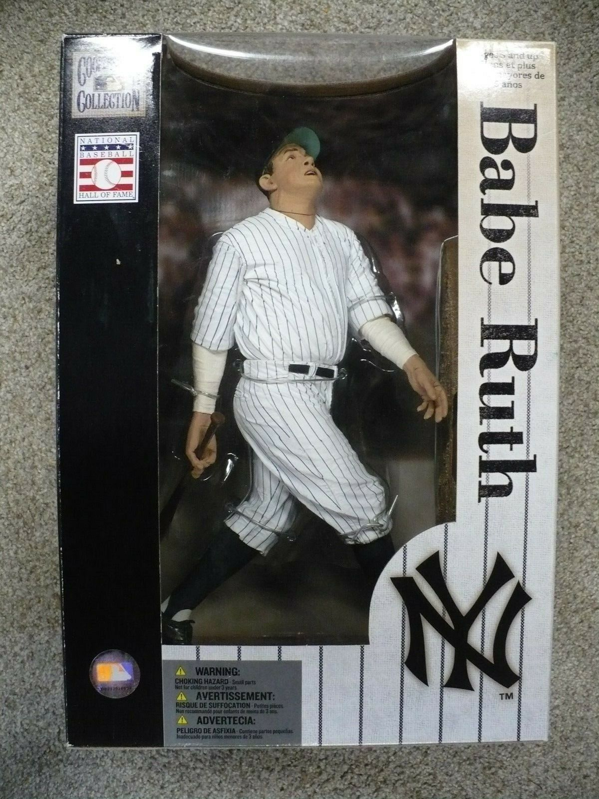 Babe Ruth Cooperstown collection 2005 mcfarlanes 12  Statue