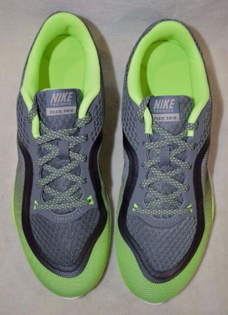 27bd85d5606 Nike Flex Trainer 6 Print 831578 Women 7.5 EUR 38.5 Grey Green ...