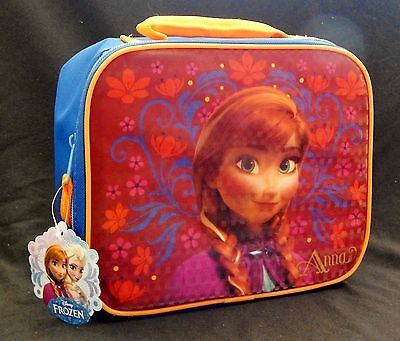 DISNEY/'S FROZEN ANNA PVC /& Lead-Safe Girls Insulated Lunch Tote Box Bag Kit  $20