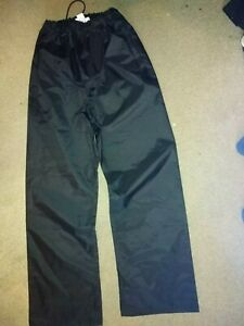Ex-Police-Waterproof-Over-Trousers-size-small-made-by-Yaffy-ltd-NEW