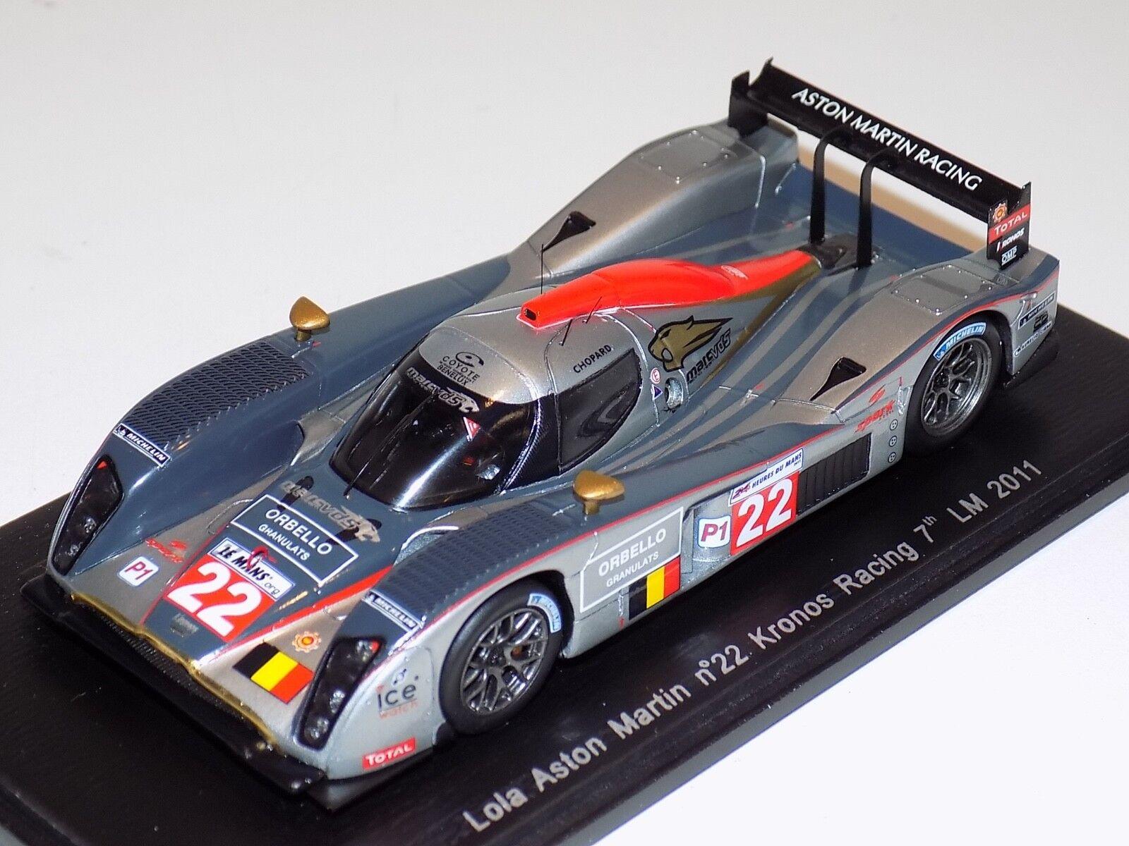 1 43 Spark Lola Aston Martin Coche  22 Kronos  22 7th 2011 24 H de Le Mans S2529