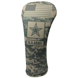 US-ARMY-ACU-CAMO-HYBRID-Golf-Club-Head-Cover-Cover-Easy-On-amp-Off-USA-MADE