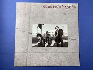Concrete-Blonde-SELF-TITLED-Vinyl-LP-Record-Album-1986-IRS-5835-EXCELLENT-Rock