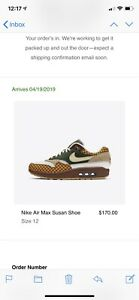 official photos 3be7b fe5d2 Image is loading LAIKA-x-Nike-Air-Max-1-AM1-Susan-