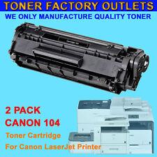 2PK 104 FX9 FX10 Toner Cartridge For Canon ImageClass MF4350D MF4150 D420 D480