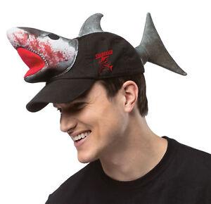 Shark hat.