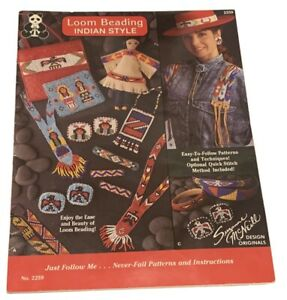 Loom Breading Indian Style SUZANNE MCNEILL (2259) Craft Guide Book FREE SHIPPING