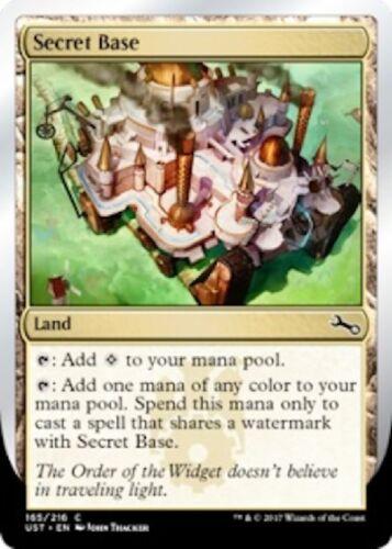 Version 1 //// NM //// Unstable //// Magic Gathering 4x Secret Base