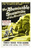 The Abominable Snowman Of The Himalayas Movie Poster 12 X 18