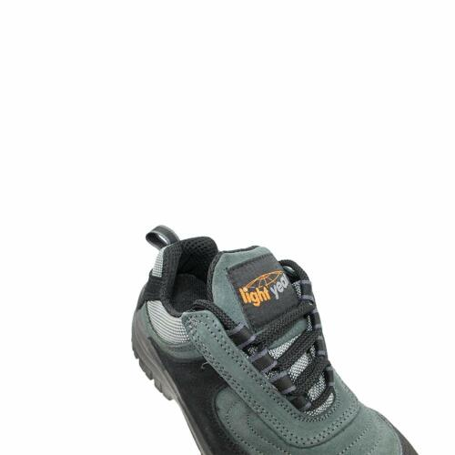New Safety Boots Shoes Safety footwear Work shoes Metal free Light Year Grey