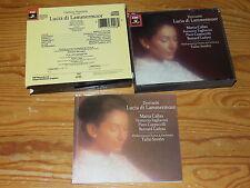 DONIZETTI - LUCIA DI LAMMERMOOR: SERAFIN / EMI JAPAN 2-CD-BOX 1986