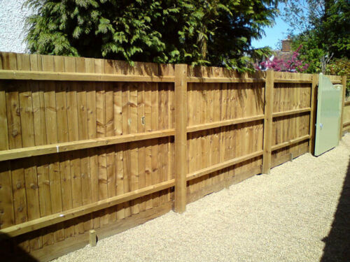 Timber Fence Posts 3x3 4x4 6x6 Treated Timber Fencing Gate