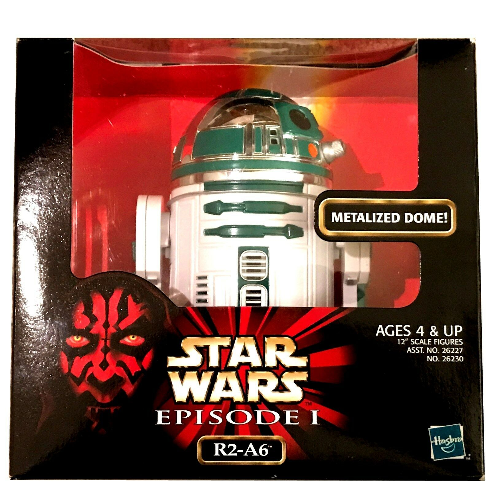 STAR WARS EPISODE I R2-A6 ACTION FIGURE, Mint in Box