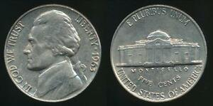 United-States-1963-5-Cents-Jefferson-Nickel-Uncirculated