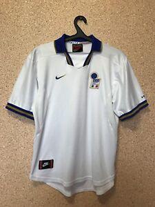 0d9c07d293 Vintage Italy NATIONAL TEAM 1996 1998 AWAY FOOTBALL SHIRT CAMISETA ...