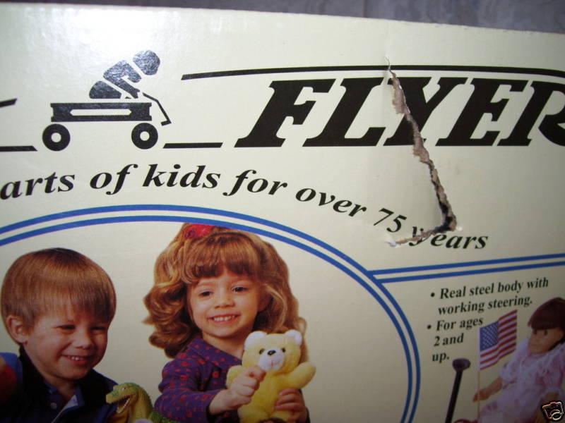 RADIO FLYER FLYER FLYER METAL WAGON USA 12  a43819