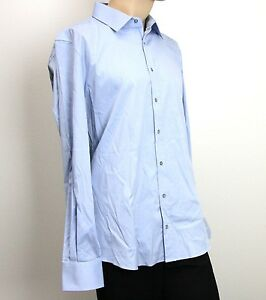 379f8c5a4f8 Image is loading NEW-Authentic-Gucci-Mens-Dress-Shirt-Fitted-Light-
