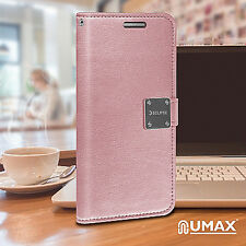 f3c3aa1f1dd For Samsung Galaxy J7 PRIME Premium Flip Out Pocket Wallet Case Pouch Cover