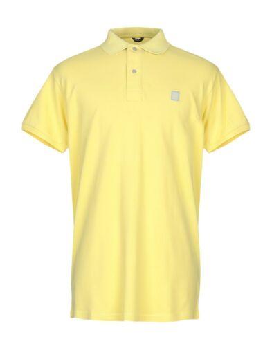 Refrigiwear Polo Uomo Man Maglia Mezza Manica Corta T-shirt Giallo Gialla Yellow
