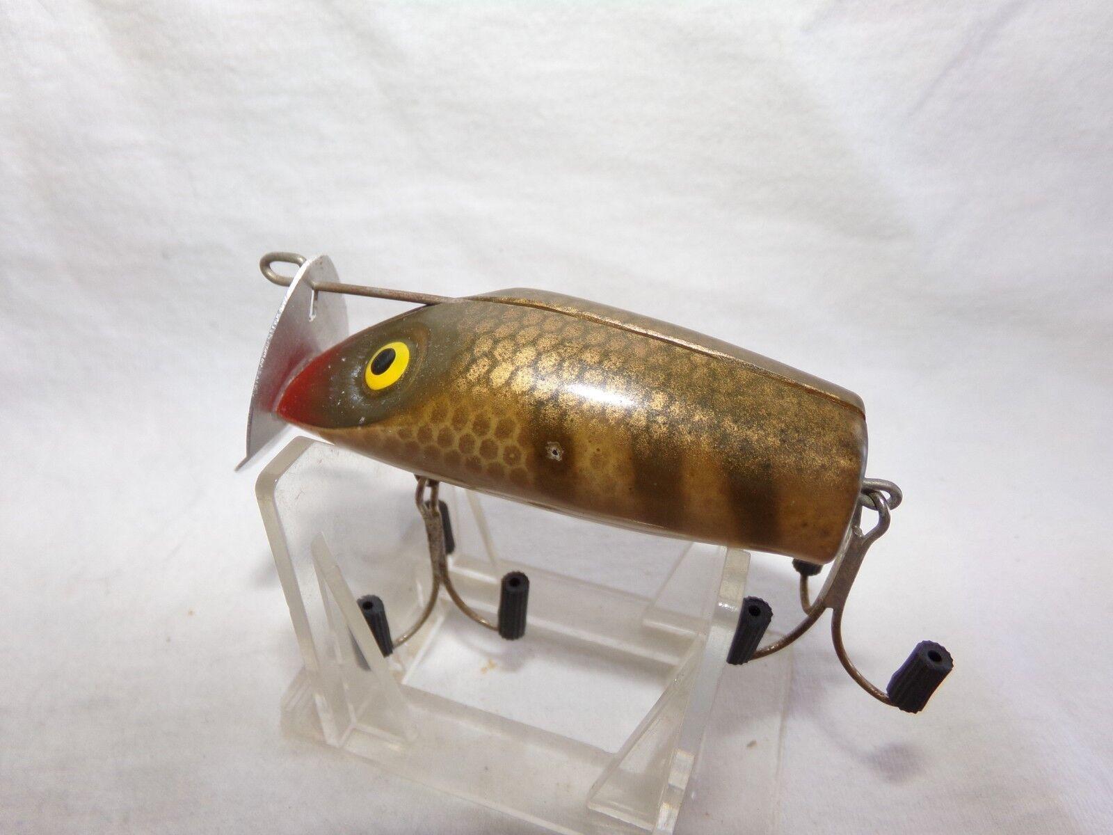 VINTAGE L. COOPER JAC-POT INTERCHANGEABLE FISHING LURE