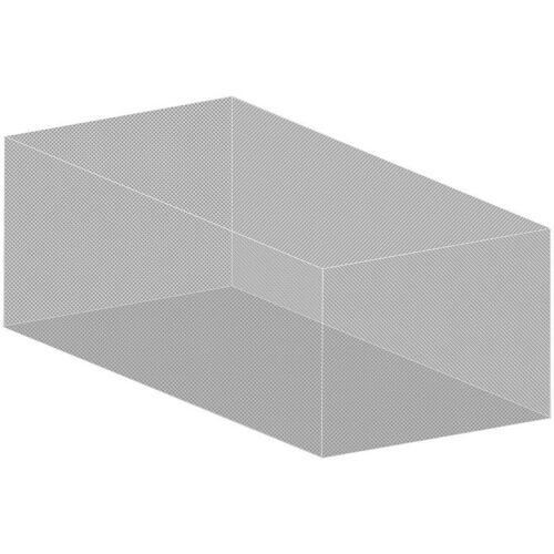 infactory XXL-Moskitonetz für Innen /& Außen weiß 220 Mesh 300 x 500 x 250 cm