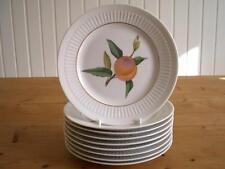 Royal Worcester Evesham Gold Ribbed Side Plates, choose 3, 6 or 9