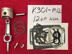 Kohler-K301-12HP-ENGINE-REBUILD-KIT-w-FREE-TUNE-UP