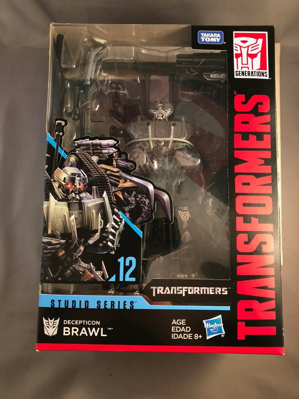 New Transformers Studio Series Decepticon BRAWL Voyager Class Takara Tomy