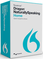 Nuance Dragon Naturally Speaking Home 13 Version 13.0 W/ Headset, Retail Box