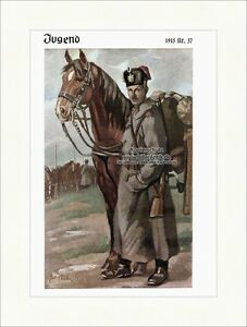 Grosses Soldes Page De Titre Du Numéro 37 De 1915 Joseph Andreas Sailer Hussard Jeunesse 4024-afficher Le Titre D'origine Pour AméLiorer La Circulation Sanguine