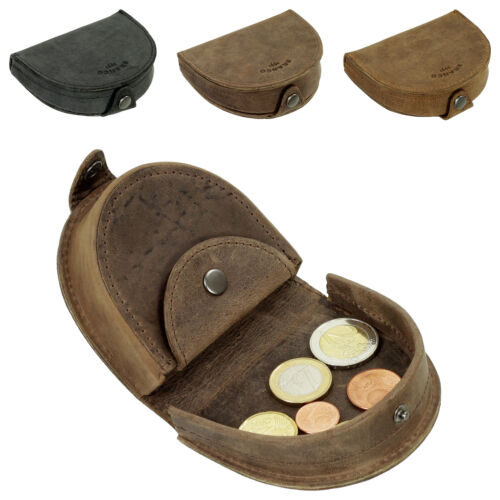 In Pelle Uomo Portafoglio eine spiccioli Borsa münzbörse schüttbörse Pelle 41015