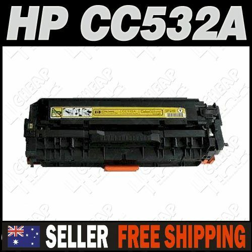 1x Yellow Toner for HP CC532AColor LaserJet CP2025 CP2025dn CP2025n CP2025x